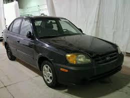 2004 hyundai accent for sale kmhcg45c64u511175 2004 black hyundai accent on sale in ny