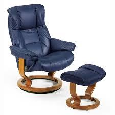stressless mayfair small recliner chair u0026 ottoman classic base