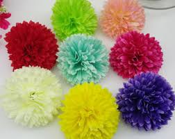 silk flowers bulk 100pcs coral wedding flowers foam heads for balls