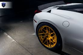 gold ferrari 458 2014 ferrari 458 u2013 rohana wheels