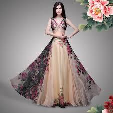 floral dresses party wear