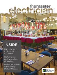 the master electrician autumn 2016 by master electricians