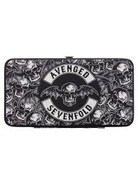 Avenged Sevenfold Flag Avenged Sevenfold Repeat Death Bat Hinged Wallet Buy Online At