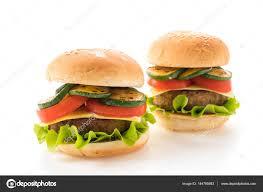 fond blanc en cuisine hamburger sur fond blanc cuisine américaine photographie