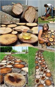 diy rustic log decoration ideas best logs on pinterest wooded