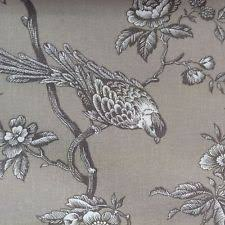 Upholstery Fabric With Birds Toile Fabric Ebay