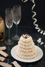 danish marzipan ring cake with icing kransekage recipe
