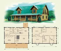 loft cabin floor plans gambrel style barn homes jefferson ii log home and log cabin
