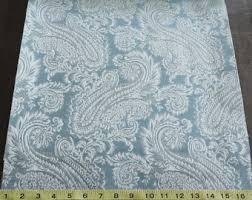 Teal Patterned Curtains Custom Curtains With Beige Cream Teal Stripe Pattern One