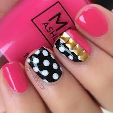 busy girls nail art challenge week 3 polka dots my little pony