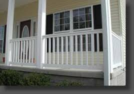 vinyl rail depot home do it yourself vinyl railing and aluminum