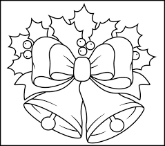 bell clipart christmas coloring pencil color bell clipart