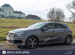 mercedes amg 250 the mercedes class a 250 amg sport is parked in front of