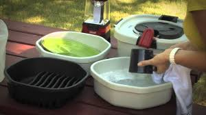 Coleman Camp Kitchen With Sink by Coleman Cpx All In One Portable Sink Youtube