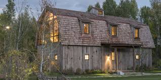 Home Front Design by This Guest House Was Built To Look Like A Rustic Barn Rustic