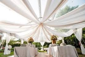 Chiffon Drape Ceiling Draping Sheer Voile Chiffon Ceiling Drape Panel Wedding 19