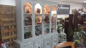 Display Dishes In China Cabinet Refinished Treasuresunique Uses For China Cabinets