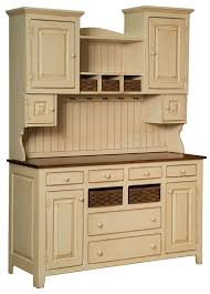 sadie u0027s painted pine hutch from dutchcrafters amish furniture