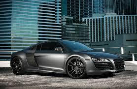 Audi R8 All Black - customized audi r8 v10 exclusive motoring miami fl