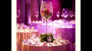 Anniversary Centerpiece Ideas by 25th Wedding Anniversary Decoration Ideas Youtube