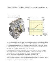 dw10bted4 rhr 2 0 hdi engine wiring diagram propulsion