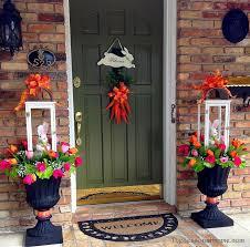 Main Door Flower Designs by Best 25 Outdoor Easter Decorations Ideas On Pinterest Happy
