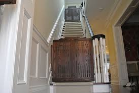 Stair Gates For Banisters Hand Made Stair Gates By Hollow Tree Custommade Com