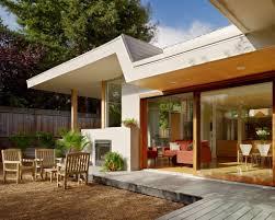 nice simple design modern wood decks that has minimalist pool can