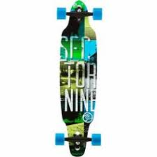 amazon long board black friday sector 9 r a w rasta pintail complete bamboo longboard 38 5