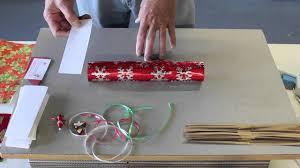 making christmas crackers youtube