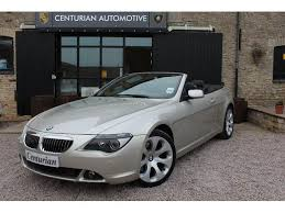 bmw 6 series for sale uk used 2004 bmw 6 series convertible 645ci 2dr auto petrol for sale