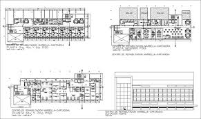 design center cad recovery and rehabilitation center design drawing cad design
