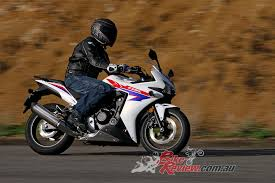 honda cbr500r 2013 honda cbr500r review bike review