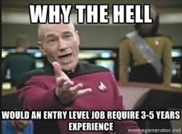 Finding A Job Meme - job hunting with no experience in memes careers24