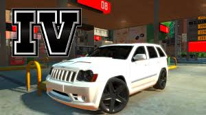 jeep srt modified acidentes gta iv jeep grand cherokee srt8 2008 youtube