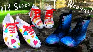 diy clothes 3 diy shoes projects diy sneakers boots fashion