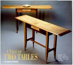 Hall Table Plans How To Hall Table Free Woodworking Plans