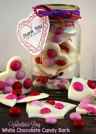 valentine u0027s day candy bark recipe easy teacher gifts where
