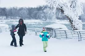niagara falls frozen photos