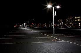 parking lot pole lighting installation repair parking lot pole
