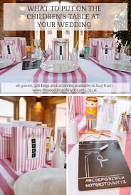 table for children s room ideas for the childrens table at wedding
