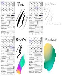 my brush settings by snowy town on deviantart