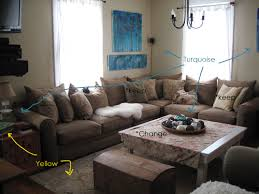 Turquoise Living Room Decor Top Brown And Turquoise Living Room Ideas Also Modern Home