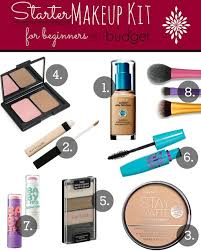starter makeup for beginners on a budget makingup your mind spot