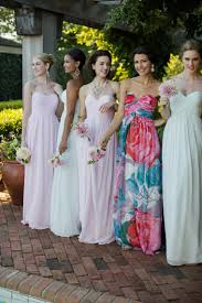 mix match bridesmaid dresses how to the mix match bridesmaid look what i learned