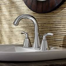 Typical Faucet Flow Rate Tropic 2 Handle 8 Inch Widespread High Arc Bathroom Faucet