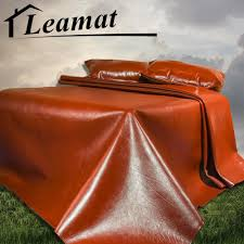 breathable sheets luxury brand leather summer super cool mat folding breathable