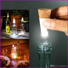 cork shaped rechargeable bottle light fashion design romantic cork shaped empty bottle light bright led