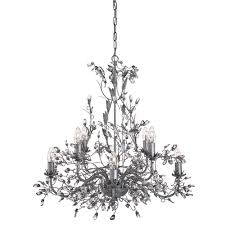 Silver Chandelier by Almandite 8 Light Chandelier Silver Silver Chandeliers Pagazzi