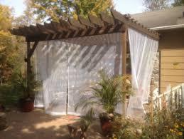 Pergola Mosquito Curtains Pergola Mosquito Netting Home Ideas